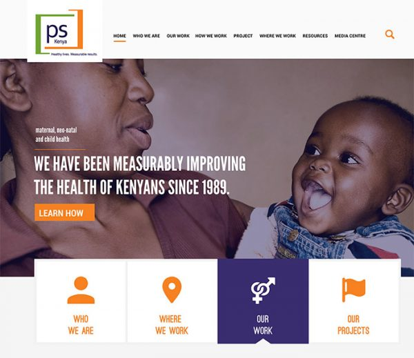 PS Kenya – Web Design